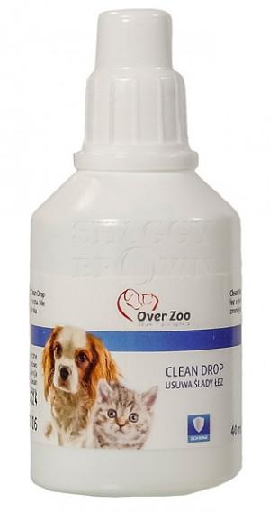 Over Zoo Clean Drop Acu tīrīšanas līdzeklis dzīvniekiem 40ml