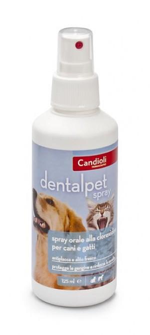 Candioli Dental Pet Spray sprejs zobu aplikuma veidošanās profilaksei 125ml