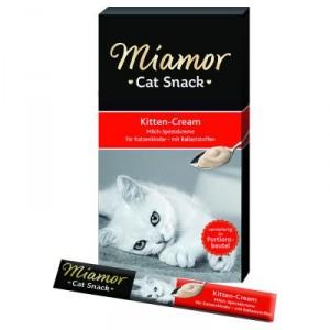 Miamor Kitten Cream gardums kaķēniem ar pienu 15g x 5