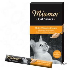 Miamor Multi Vitamin Cream gardums kaķiem ar vitamīniem 15g x 6
