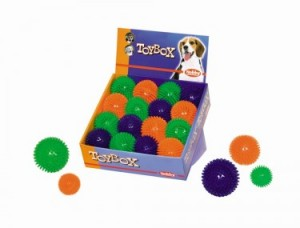 Nobby Spiky rotaļlieta suņiem no termoplastmasas 6cm