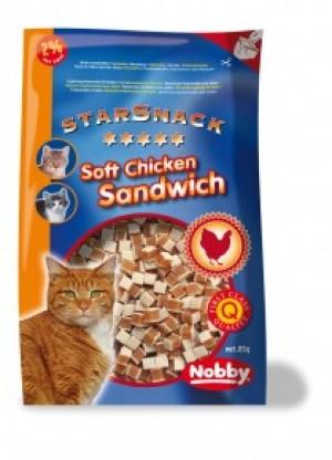 Nobby Starsnack Soft Chicken Sandwich gardums kaķiem 85g