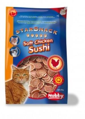 Nobby Starsnack Soft Chicken Sushi gardums kaķiem 85g