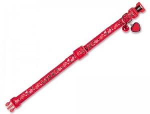 Nobby ''Love'' - kaklasiksna kaķiem, sarkana