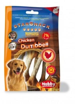 Nobby StarSnack Barbecue Chicken Dumbbell 70g