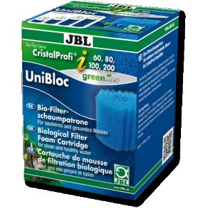 JBL UniBloc CristalProfi i60/80/100/200 sūklis iekšējiem akvārija filtriem