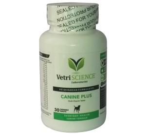 Canine Plus vitamīni, minerālvielas, aminoskābes un gremošanas fermenti suņiem vienā tabletē 30gb