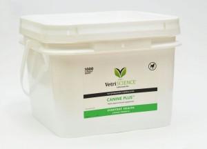 Canine Plus vitamīni, minerālvielas, aminoskābes un gremošanas fermenti suņiem vienā tabletē 1000gb