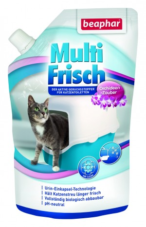 Beaphar Odour killer Orchidee for cats Dezodorējošs līdzeklis kaķu tualetēm 400g