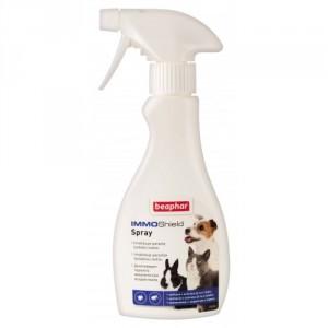 Beaphar Immo Shield Spray aerosols pret parazītiem suņiem,  kaķiem, grauzējiem 250ml