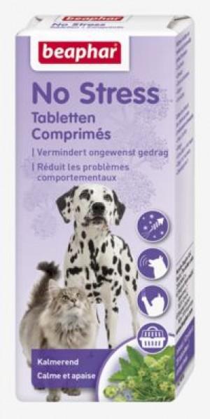 Beaphar No Stress Tablets for Dog and Cat nomierinošas tabletes suņiem un kaķiem ar baldriānas ekstraktu 20gb