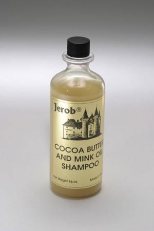 Jerob Cocoa Butter&Mink Oil Shampoo - šampūns ar kakao un ūdeles eļļām 250ml (8oz.)
