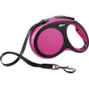 Flexi New Comfort L 8m rozā (lente)