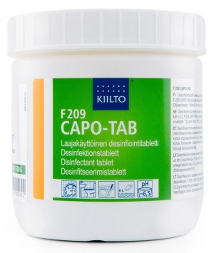Hlora tabletes F209 Capo-Tab 500g