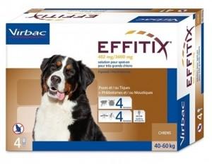 EFFITIX VIRBAC spot on pilieni ļoti  liela auguma ( 40-60 kg) suņiem  N4