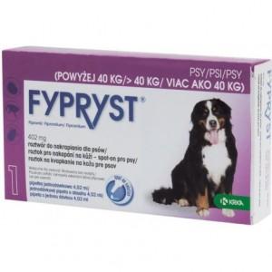 Fypryst pretparazitāri pilieni suņiem 40-60 kg 402 mg  N3