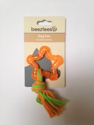 BeezTees Rotaļlieta zvaigzne oranža