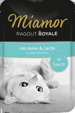 Miamor Ragout Royale 22 x 100g Konservi želējā ar lasi