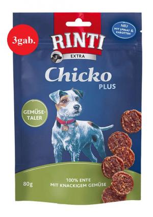 RINTI Extra Chicko Ente&Gemuse 3 x 80g