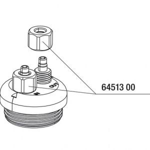 JBL Collar nut for air/CO2 hose