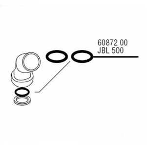 JBL CP F500 O-Ring for Fitting 2x