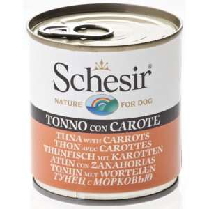 Schesir Dog Tuna & Carrots 285g