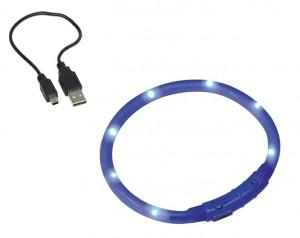 Nobby LED Kakla siksna zila