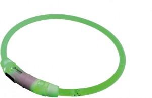 """Nobby LED gaismas siksna """"VISIBLE"""" M, zaļa"""