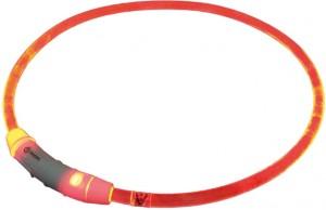 "Nobby LED gaismas siksna ""VISIBLE"" L, sarkana"