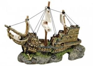 """Nobby Akvārija dekors Aqua Ornaments """"SHIP"""""""