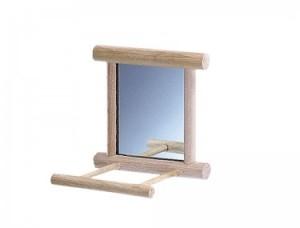 Nobby Spogulis koka ar nolaišanās laukumu