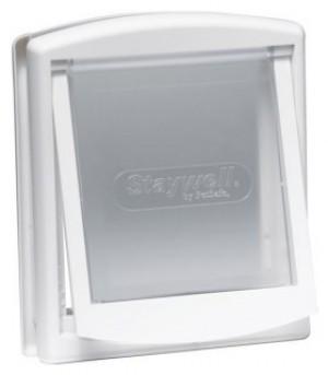 Petsafe Staywell® Original durvis iebūvēšanai ar  2 režīmiem, M balta krāsa