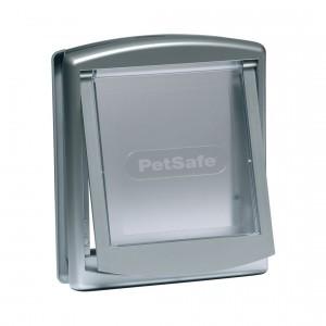 Petsafe Staywell® Original durvis iebūvēšanai ar  2 režīmiem, M pelēka krāsa