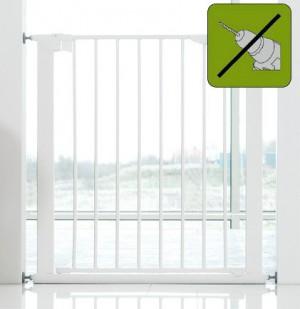 BABY DAN PREMIER SAFETY GATE WHITE - drošības barjera, balta