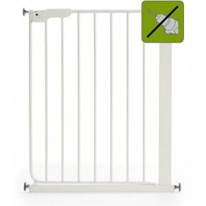 BABY DAN - SAFETY GATE SLIM FIT GATE - drošības barjera, balta
