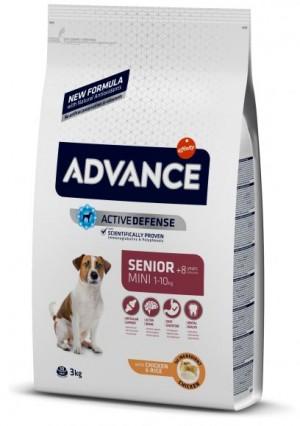 ADVANCE DOG MINI SENIOR sausā barība suņiem  3 kg