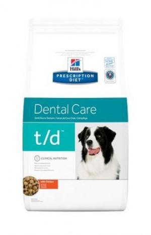 HILLS PD T/D Hill's Prescription Diet Dental Care With Chicken  3 kg