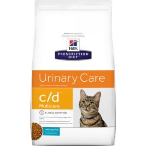 HILLS PD C/D Hill's Prescription Diet Urinary care with Ocean fish 1.5 kg