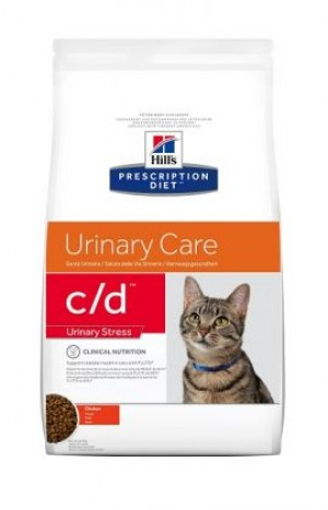 HILLS PD C/D Hill's Prescription Diet Urinary care/Urinary Stress with Chicken 1.5 kg
