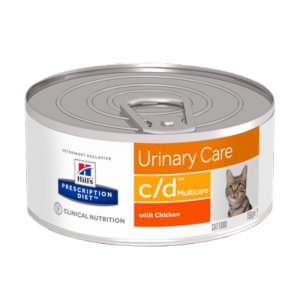 HILLS PD C/D Hill's Prescription Diet Urinary care with Chicken 0.156 kg