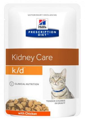 HILLS PD K/D Hill's Prescription Diet Kidney care with Chicken 12 x 85 g