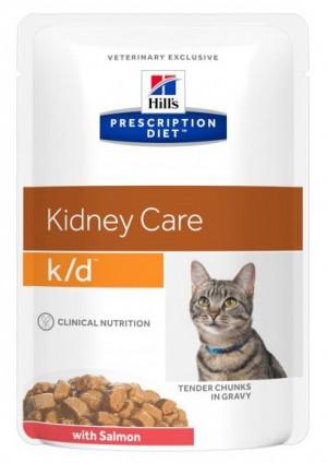 HILLS PD K/D Hill's Prescription Diet Kidney care with Salmon 12 x 85 g