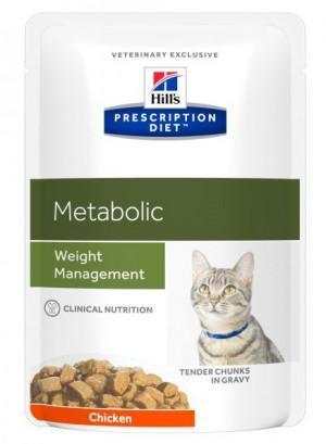 HILLS PD META Hill's Prescription Diet Metabolic 12 x 85 g
