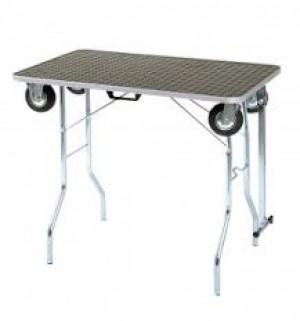 ShowTech Trolley Table M grūminga galds ar riteņiem  90 x 60 x 77 cmH
