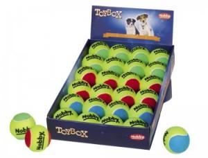 "Nobby Tennisball M 6.5 cm ""Assorti"""
