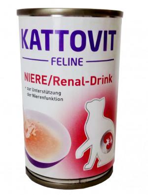 Kattovit Feline Niere/Renal - Drink, zupa kaķiem ar nieru problēmām 12x 135g