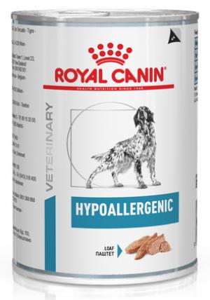 Royal Canin Hypoallergenic Wet Dog 0.4 kg