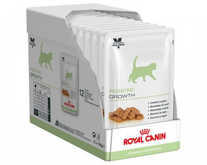 Royal Canin Pediatric Growth Wet, Cat, 12 x 100g