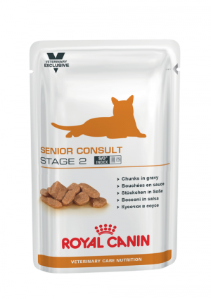 Royal Canin Senior Consult Stage 2 Wet, Cat 100g x 12 gab