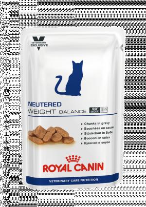 Royal Canin Neutered Weight Balance Wet, Cat 100g x 12 gab